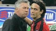 Filippo Inzaghi, Carlo Ancelotti