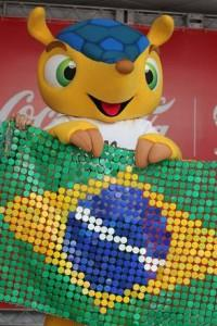 Introduced official mascot for Brazil 2014