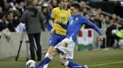 Amichevole Italia Brasile