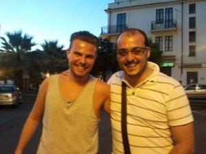 Il direttore di SM, Christian Pradelli, con Guglielmo Mastroianni di Milan Day.