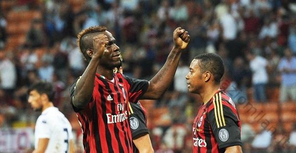 Balotelli Milan-Cagliari (spaziomilan)