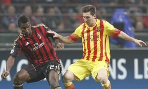 Constant Messi Milan-Barcellona (Spaziomilan)