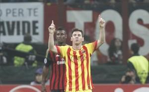 Messi Milan-Barcellona (spaziomilan)