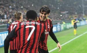 Robinho Kakà Milan-Barcellona (spaziomilan)