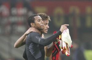 Robinho Neymar Milan-Barcellona (SpazioMilan)