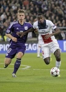 Anderlecht vs PSG