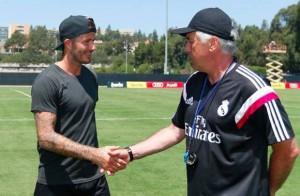 Ancelotti Beckham