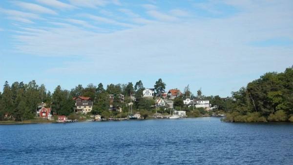 L'isola di Resaro, vicino Stoccolma di prorietà di Ibrahimovic insieme a quella di Dävensö sul lago di Mälaren