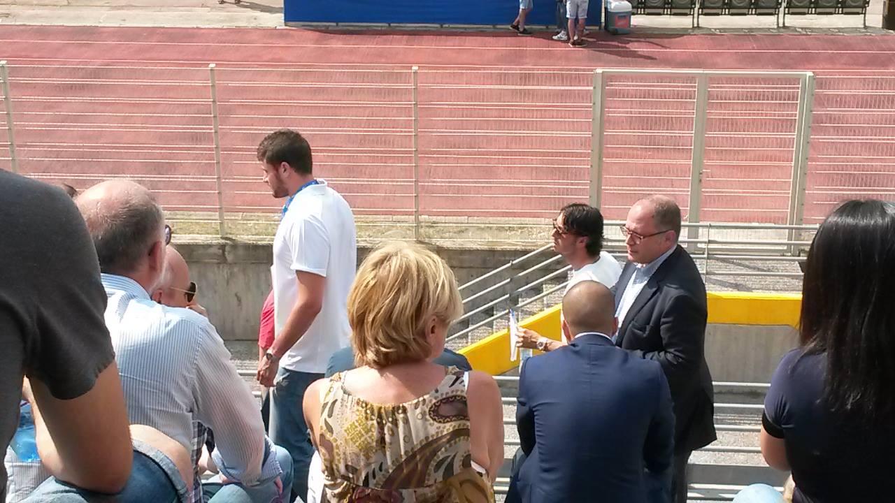 Mentana, team manager, Milan.