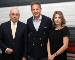 ADRIANO GALLIANI, SINISA MIHAJLOVIC, BARBARA BERLUSCONI