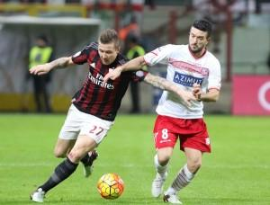 Kucka Milan recuperato vs verona brocchi formazione