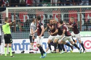 Esultanza Alex Milan-Juve SM