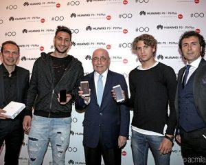 huawei galliani donnarumma locatelli