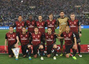 Formazione Milan (spaziomilan)