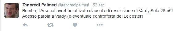 tweet tancredi palmeri