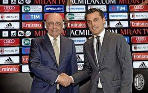 Galliani e Montella