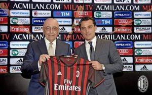 Galliani, Montella, maglia