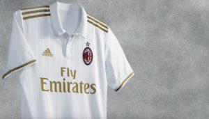 Seconda maglia Milan