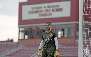 Diego Lopez in campo