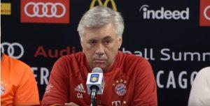 Ancelotti Screenshot video Youtube