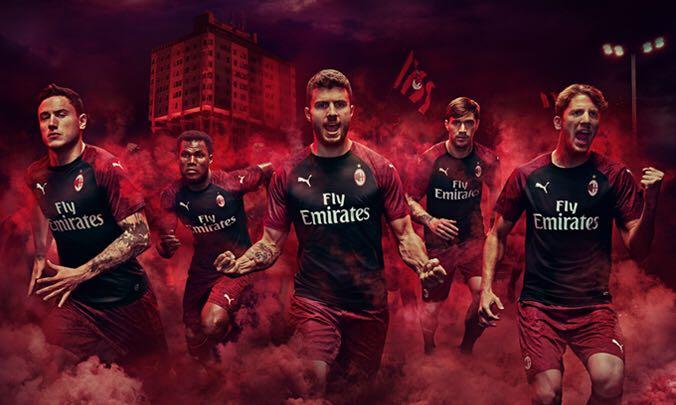 Terza Maglia AC Milan nazionali