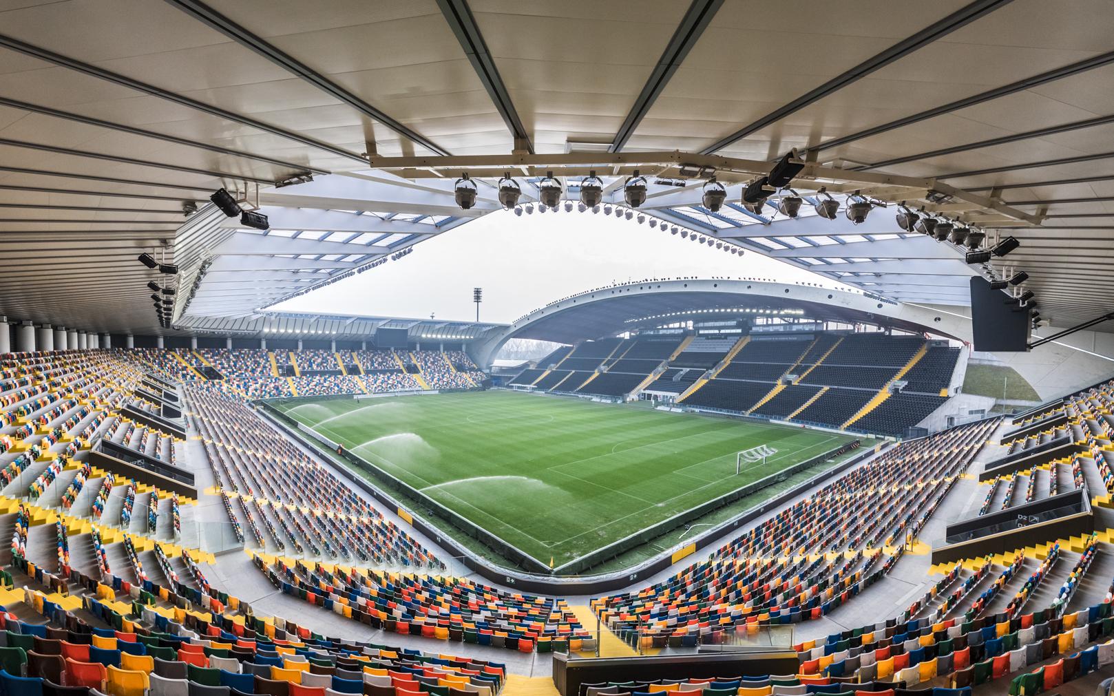 Stadio Friuli, Udinese-Milan
