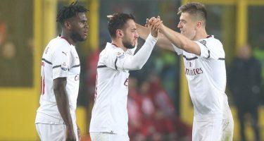 Milan, tre punti Champions e tanti tabù infranti