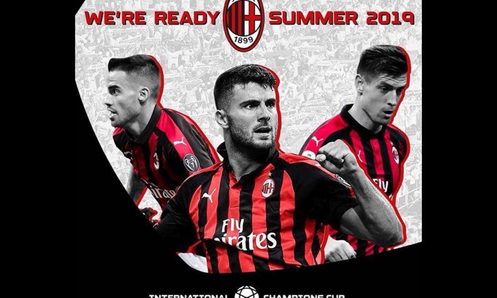 Calendario Icc.Icc 2019 Milan Negli Stati Uniti E Galles Ecco Il Calendario