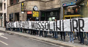 Striscione Mussolini, Digos identifica i responsabili. Le ultime