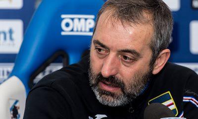 Marco Giampaolo allenatore Sampdoria