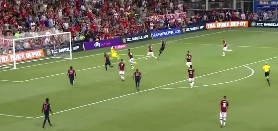 Goretzka gol Bayern Milan