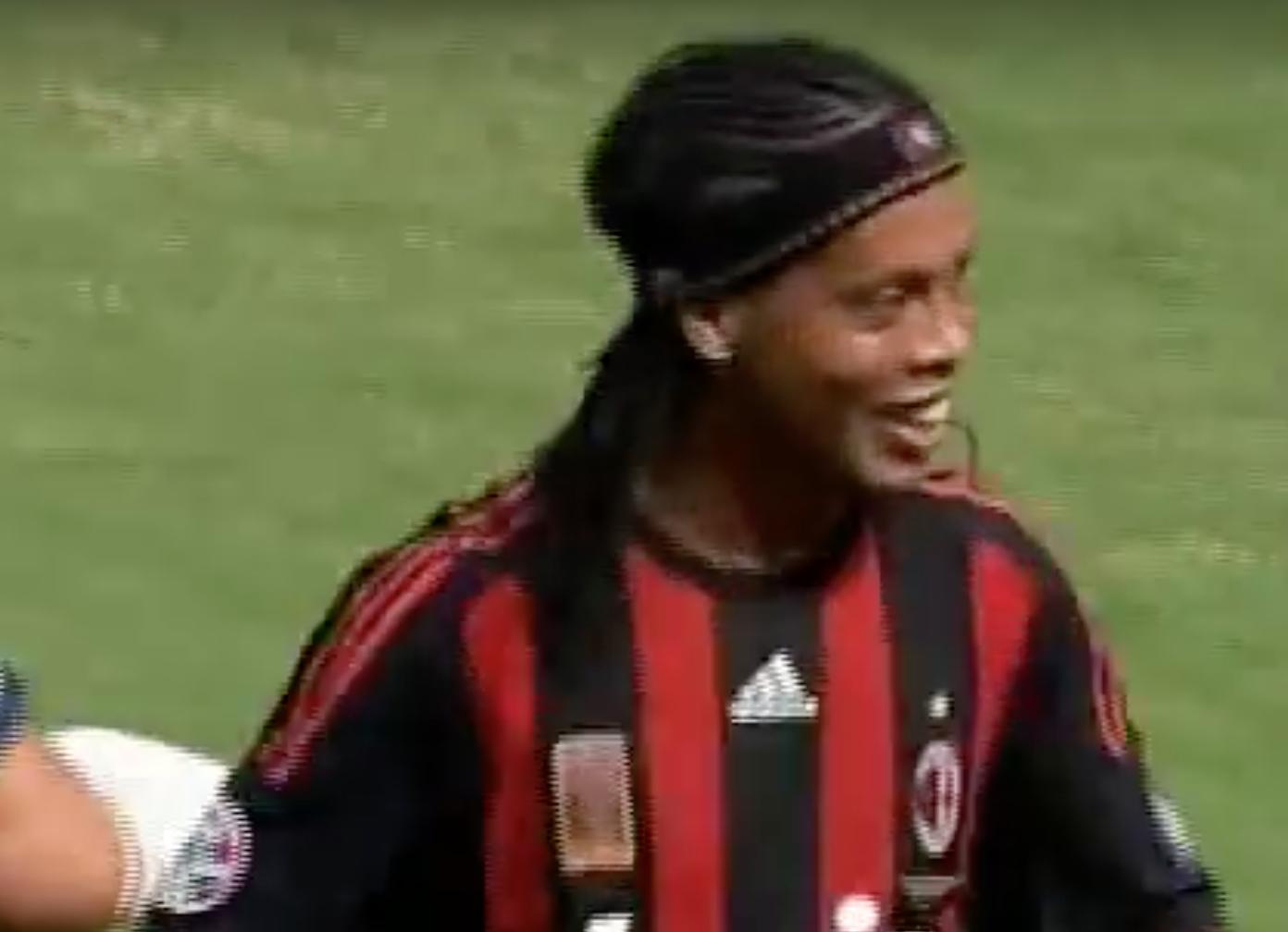 Ronaldinho Milan Bologna