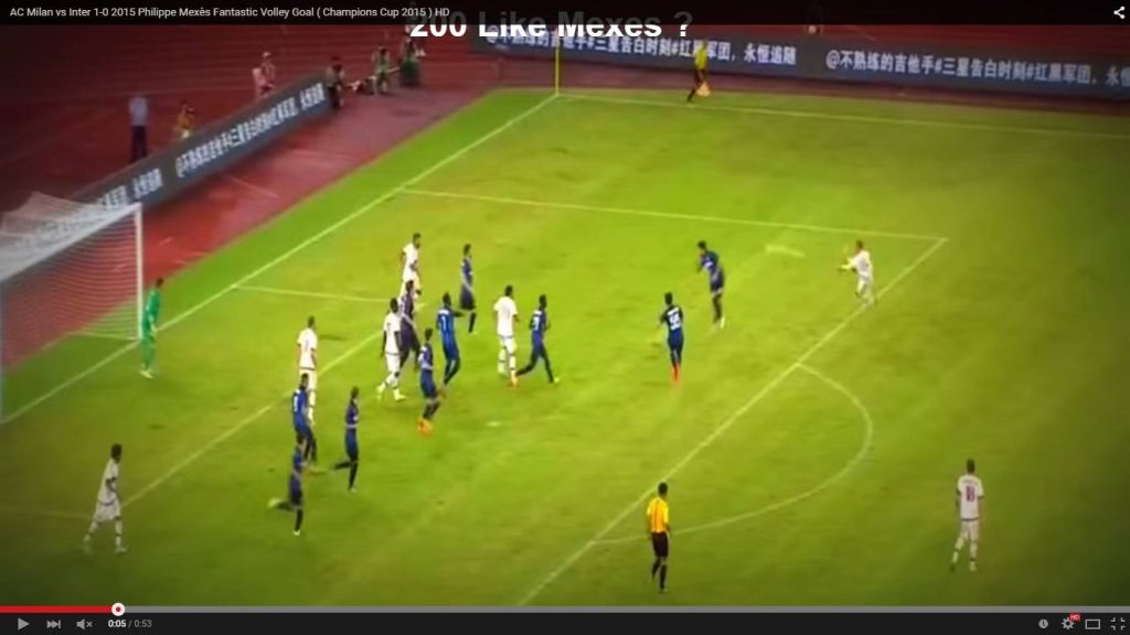 Milan Inter 1-0 Mexes