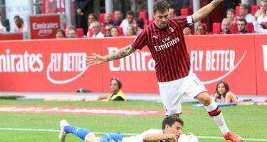 Romagnoli si scopre regista: il capitano rossonero segna un record
