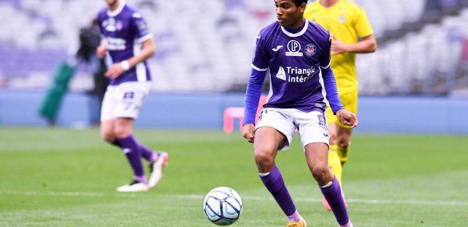 21 AMINE ADLI TOU FOOTBALL : Toulouse vs Pau - Ligue 2 BKT - 12/05/2021 FEP/Panoramic PUBLICATIONxNOTxINxFRAxITAxBEL