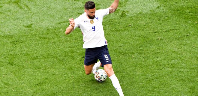 09 OLIVIER GIROUD FRA FOOTBALL : Hongrie vs France - UEFA EURO, EM, Europameisterschaft,Fussball 2020 - 19/06/2021 AnthonyBIBARD/FEP/Panoramic PUBLICATIONxNOTxINxFRAxITAxBEL