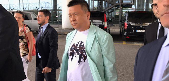 Yonghong Li Malpensa spaziomilan 5