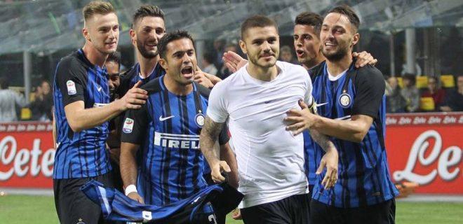 Inter Icardi Eder D'Ambrosio Cancelo Skiniar SpazioMilan