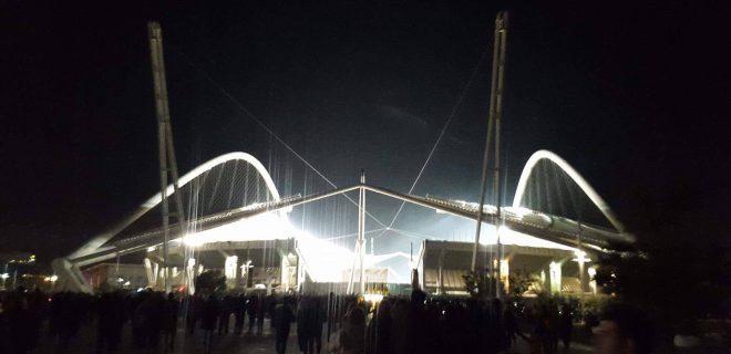 SM  Stadio olimpico Spyros Louīs Atene AEK