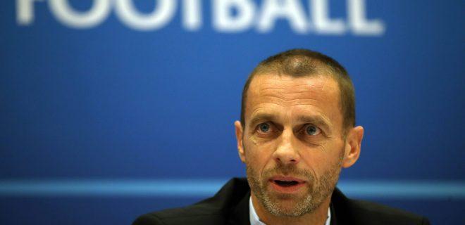 Aleksander Ceferin File Photo File photo dated 01-06-2017 of UEFA president Aleksander Ceferin. FILE PHOTO PUBLICATIONxINxGERxSUIxAUTxONLY Copyright: xNickxPottsx 55385056