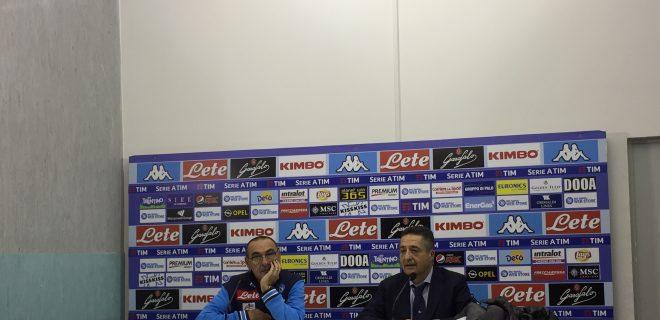 Sarri Conferenza Napoli