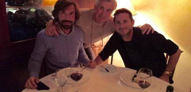 Ancelotti-Pirlo-Lampard