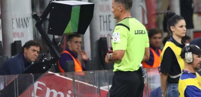 Arbitro Giacomelli VAR (SpazioMilan)