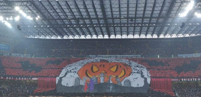 Curva Sud Milan Juve SpazioMilan