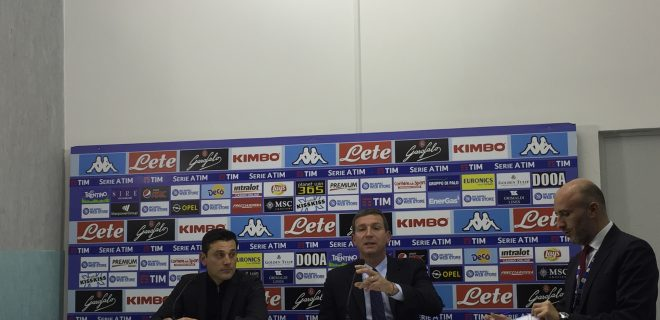 Montella conferenza Napoli