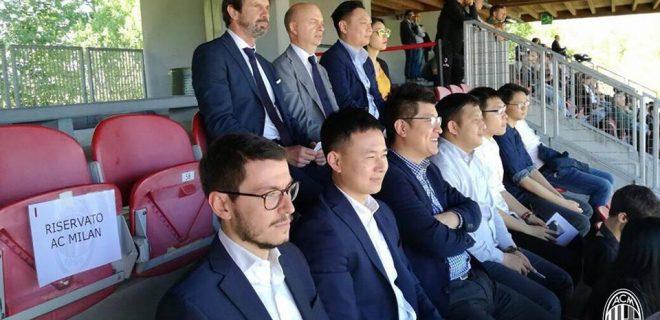 Fassone, Han Li, dirigenza cinese