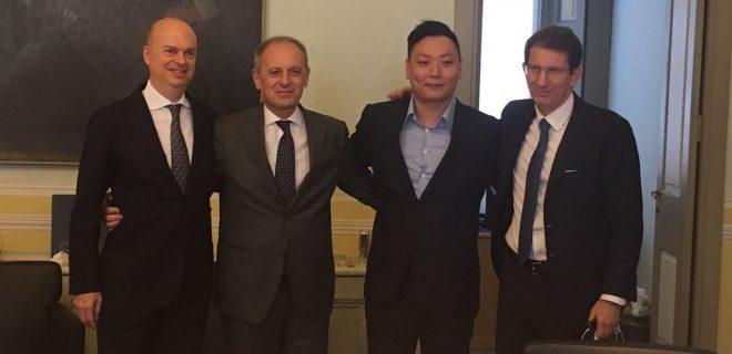 Marco Fassone, Danilo Pellegrino David Han Li, Alessandro Franzosi