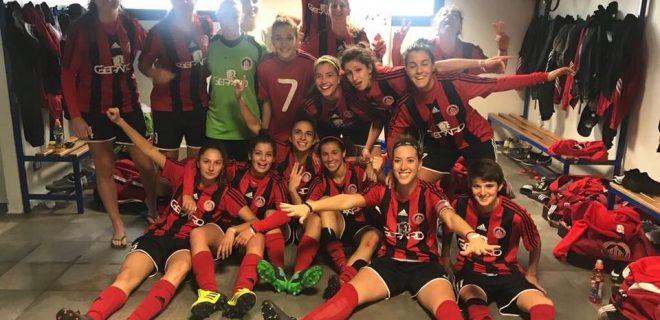 Credits: Ufficio Stampa Football Milan Ladies Twitter