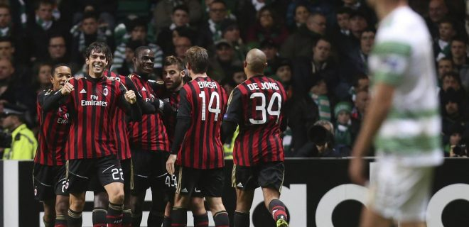 Celtic vs Milan - Uefa Champions League