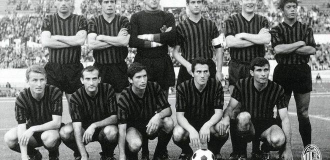 Milan stagione 1967 da Twitter @acmilan